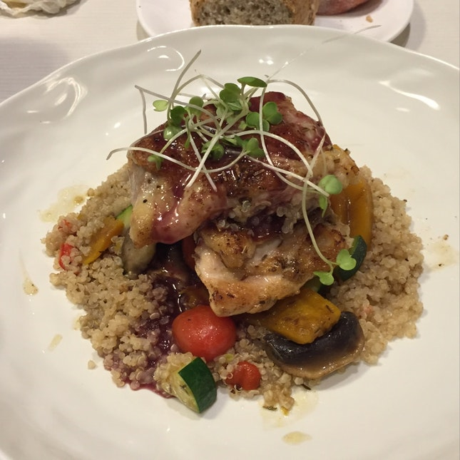 Rosemary Chicken With Quinoa