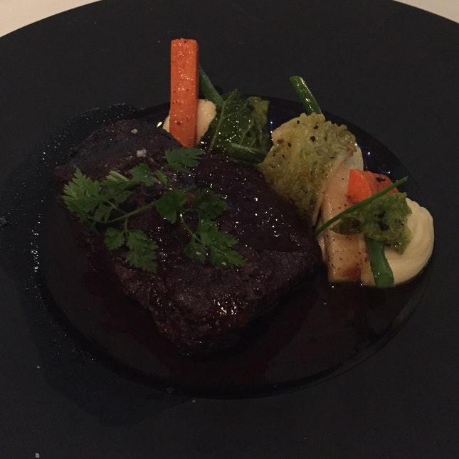 36 Hour Braised Beef cheek In Red Wine