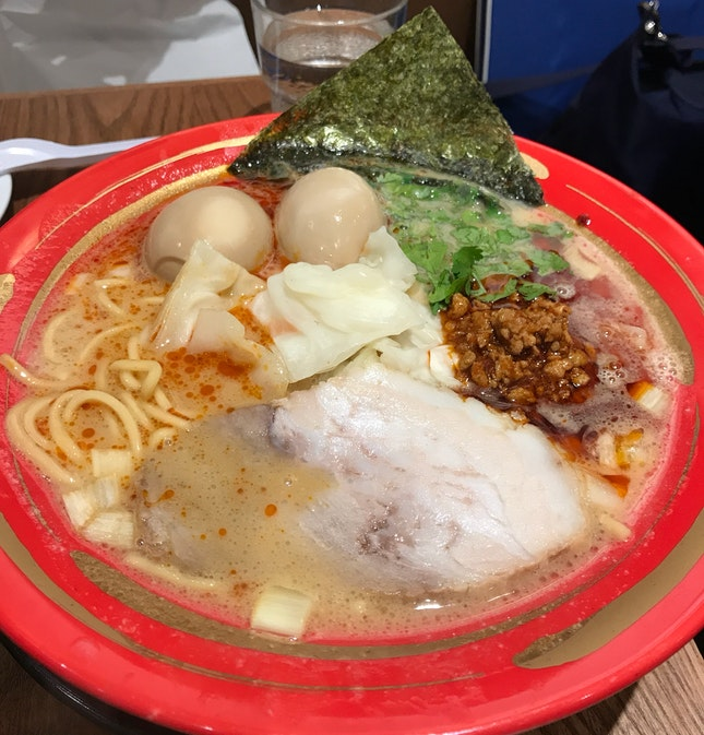 Ton-Kotsu Spicy Miso Special Ramen [$19]