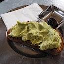 Smashed Avo + Feta - 1 slice toast [AU$6.50]