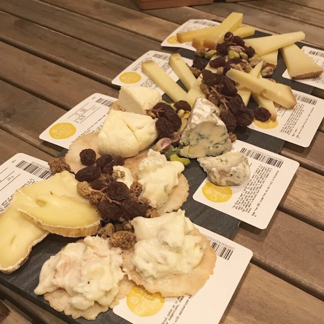 Cheese Ark Cheese Platter - Omakase Style