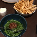 Spinaci [$15] & Fritte [$13]