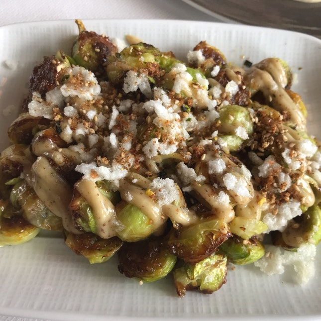 Roasted Brussels Sprouts [$16]