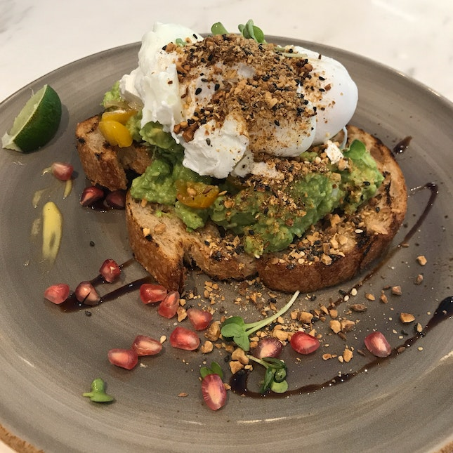 Avocado Tartine [$19.15]
