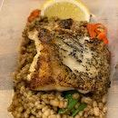 Roasted grouper [$28]