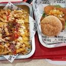 Dirt Fries + Fish Burger
