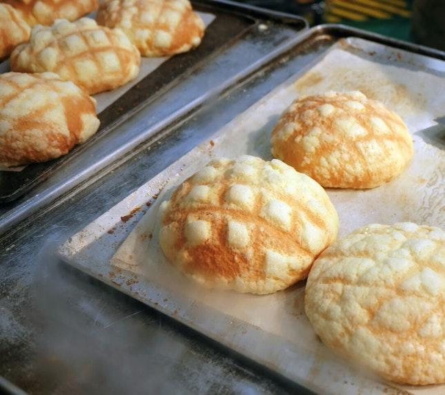 Himawariya's Butter Cookie Melon Bread