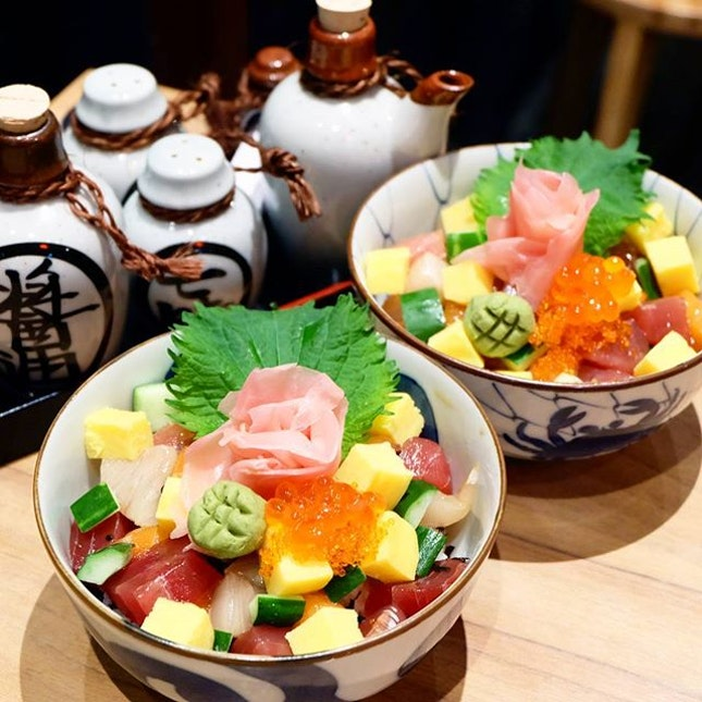 Fancy a bowl of affordable Chirashizushi?