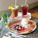 Crêpes & Iced Teas