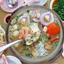 马登瓦煲海鲜鱼粥 Matang Seafood
