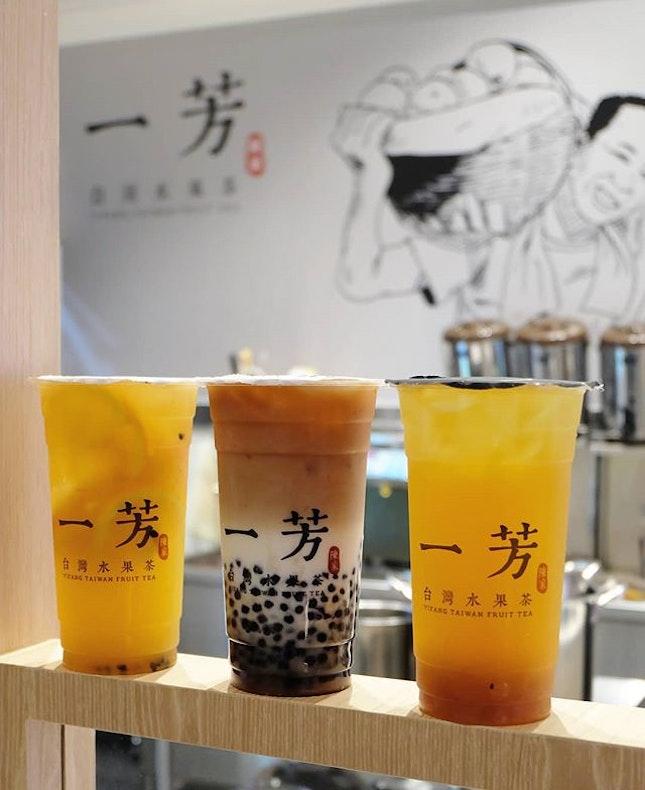 一芳台灣水果茶