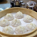Baozi Stuffed with Juicy Pork in Bamboo Steamer