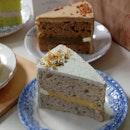 Sesame Yuzu Sliced Cake