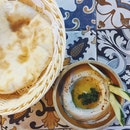 Hummus (Vegetarian) + Pita Bread | BB 3 Course Set Menu — Starter