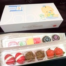 Cute gift set from baby's party