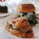 Tuna Croissant Sandwich ($7.50)