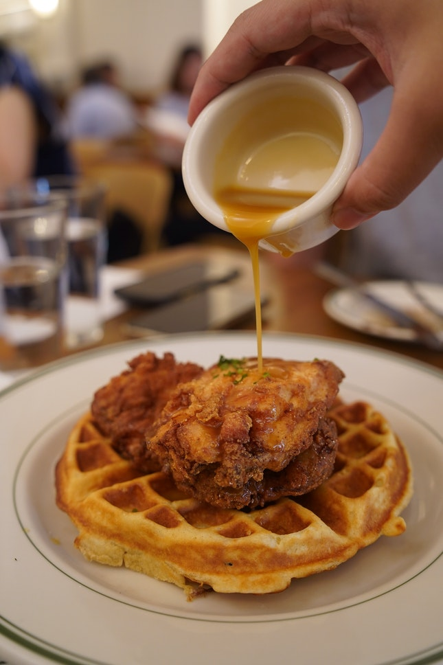 Chicken And Waffles ($21)