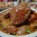 饱到爆 #burpple #foodporn #dinner #chinese #crab #chilicrab