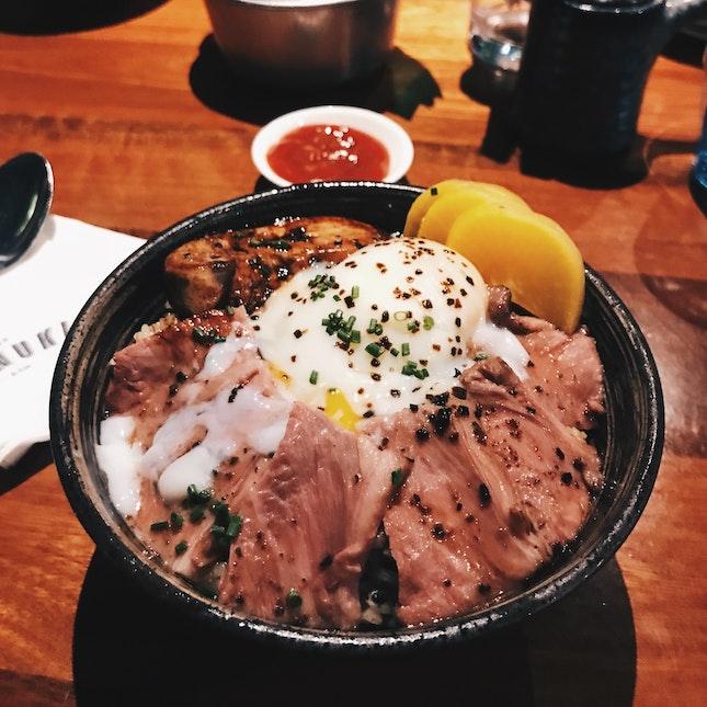 Trust Tanuki To Serve Up Good Donburis 👍🏼