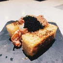 Lobster Roll With Caviar