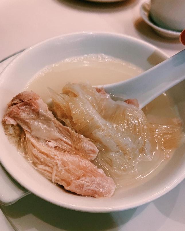 Shark Fin Soup ($128/Bowl)