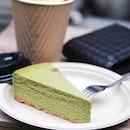 Green Tea Cheesecake