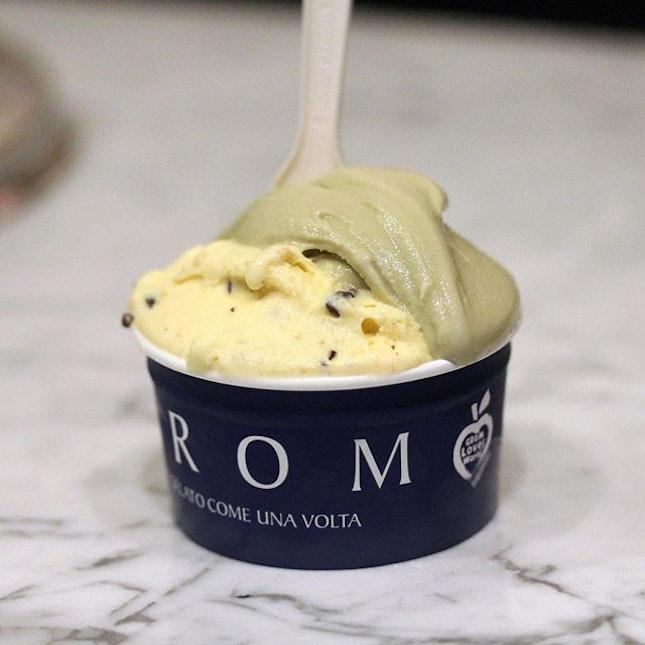 Crema di Grom & Pistachio Gelati