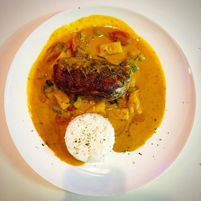 Roasted Red Duck Curry (แกงเผ็ดแดง)