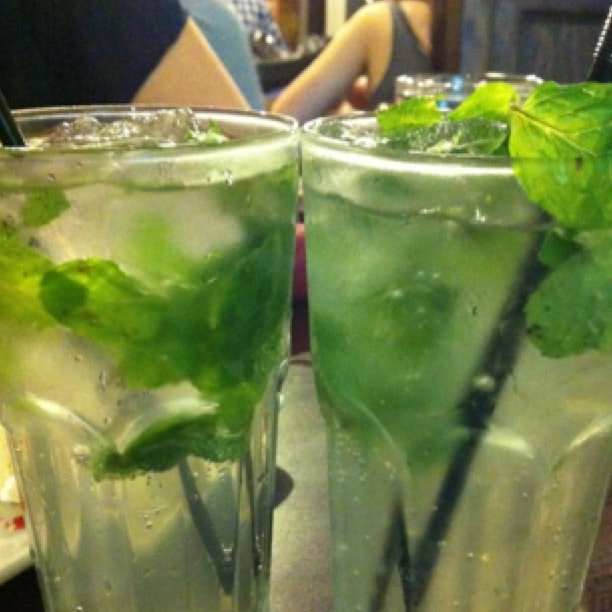 Virgin Mojito And Virgin Mango Mojito