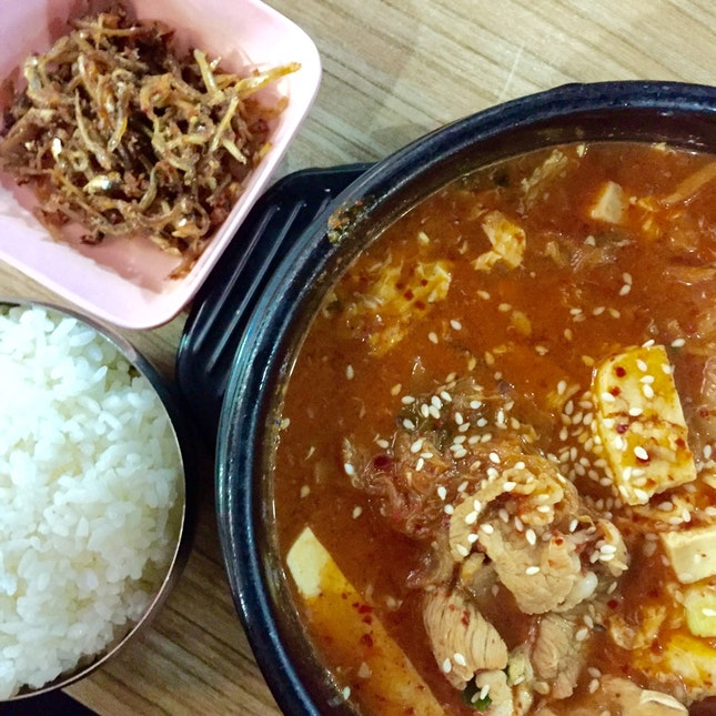 Kimchi Stew With Pork ($7.50)