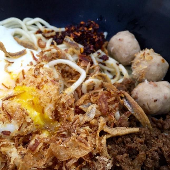 Chilli Pan Mee ($5)