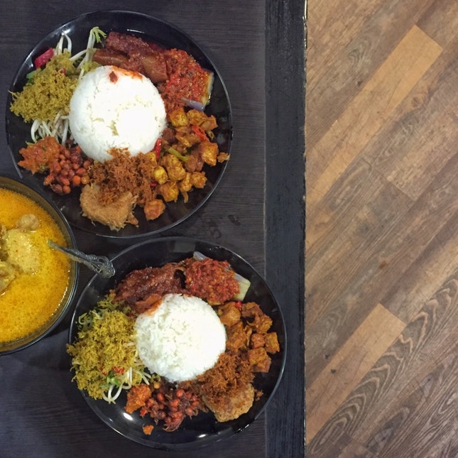 Nasi Ambeng ($7.50 For One Pax Portion)