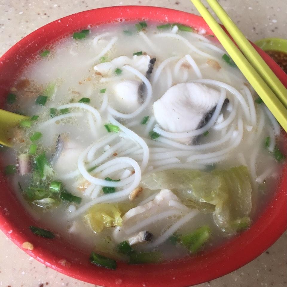 Ron Sheng Fish Head Beehoon (Yuhua Village Market & Food Centre)