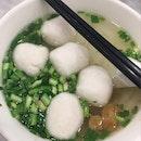 Fishball Kway Tiao Soup