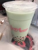 Honey Green Milk Tea