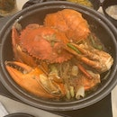 Crab With Fried Tang Hoon