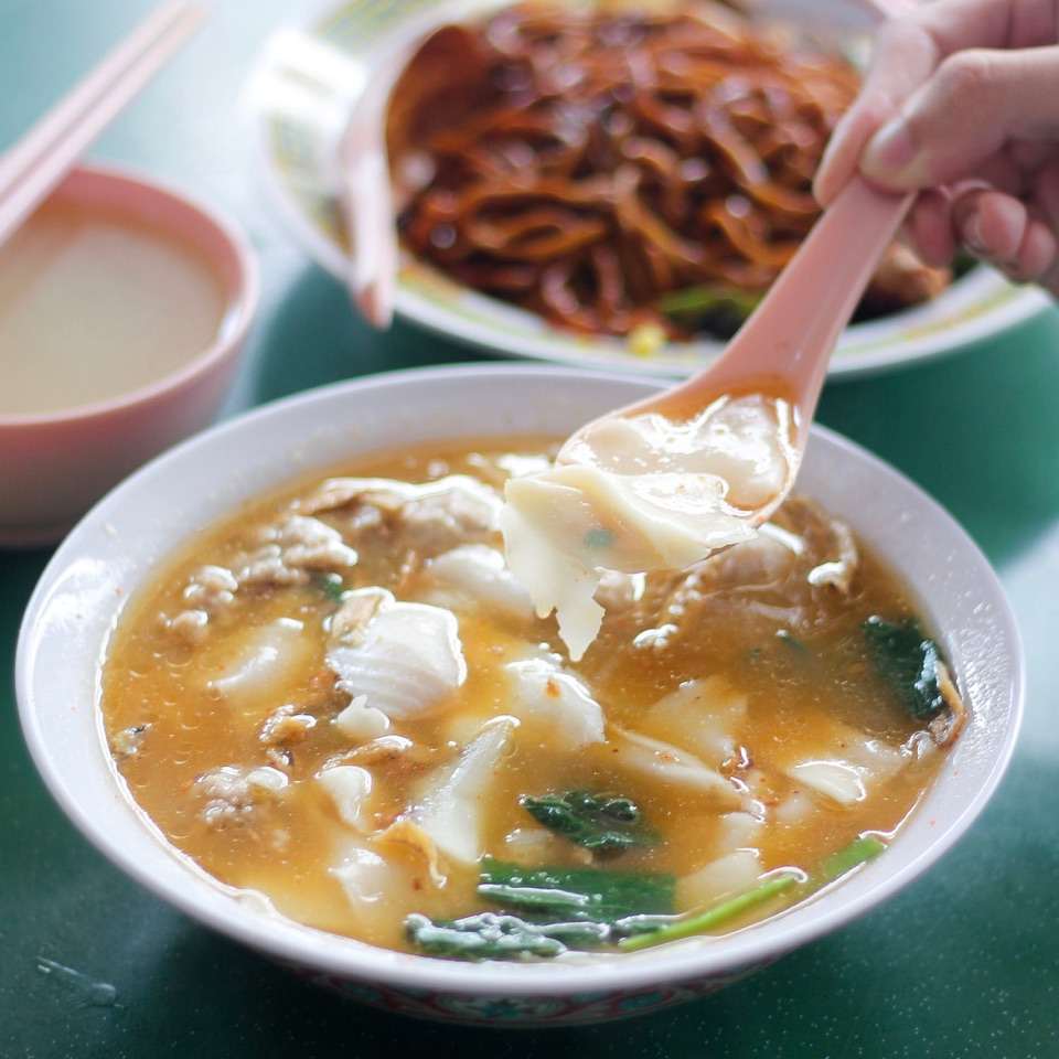 Mala Mee Hoon Kway ($5.5 With Sliced Fish Add-On)
