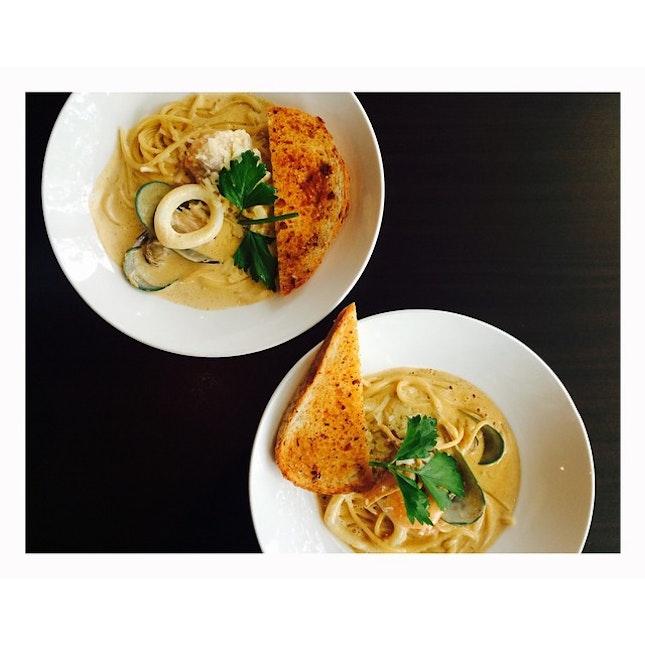 Tom Yum pasta craving satisfied 😁❤️