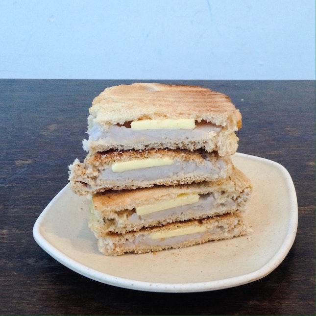 Yam + Butter Toast
