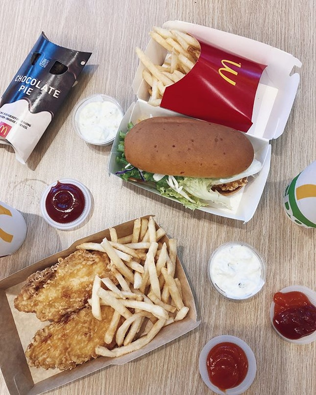 Tried out the McDonald's new menu last weekend and they were surprisingly good.