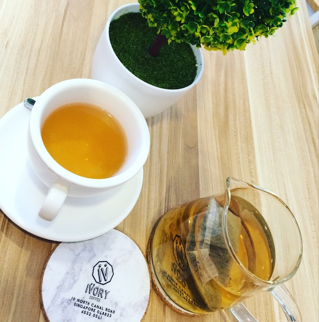 Refreshing Tea After Lunch!