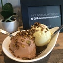 Wine chocolate and pistachio with earl grey granola ...