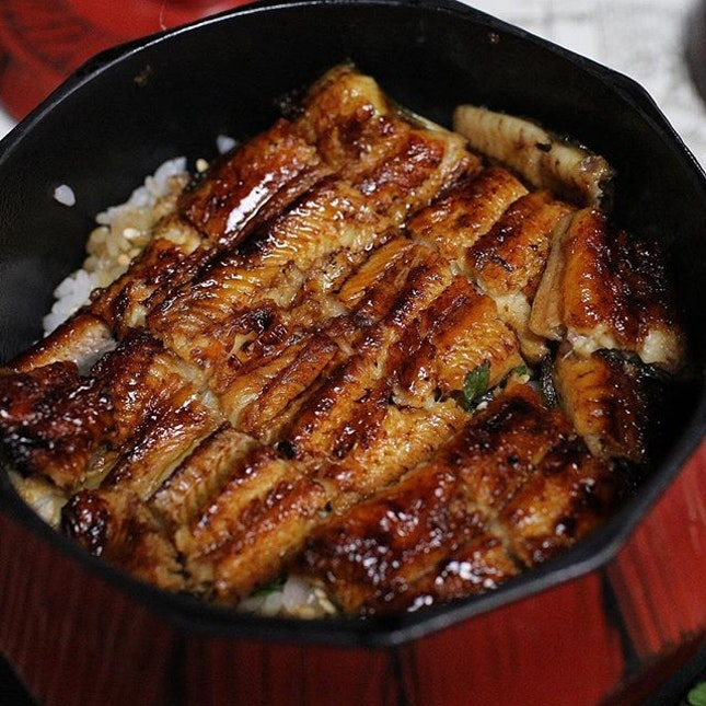 🇯🇵 U ☆ NA ☆ GI Hitsumabushi at a 170 year old restaurant serving this unagi speciality 🍚  Did you know that there are 3 ways to eat this?