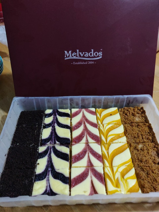 20 Pieces Assorted Cheesecake ($34.80)