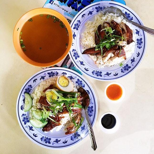 春园鸡饭/Chun Yuan Chicken Rice.