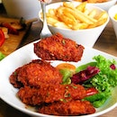 TOBY'S The Dessert Asylum Set your taste buds on fire with these Spicy Hot Wings glazed with Toby's homemade sauce!