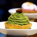 JW360° cafe The traditional mont blanc but with a matcha twist!
