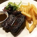 The rump steak that I had in backstage cafe was very good and value for money!