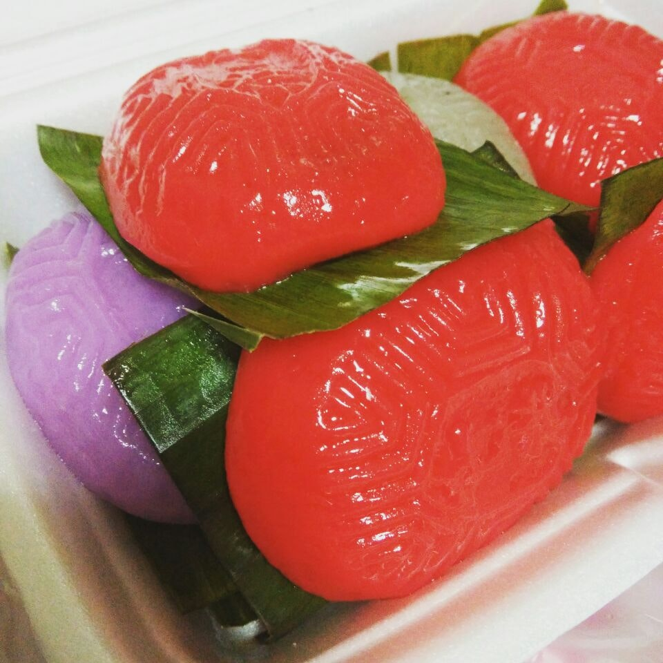 Traditional Ang Ku Kuehs