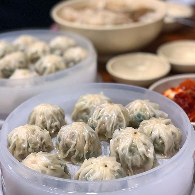 My comfort food in Myeongdong - Kyoja (10,000 Won for 10 pieces).
